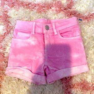 Old navy pink denim shorts 4T